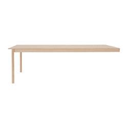 Linear System End Module | 142x240 | Accessoires de table | Muuto