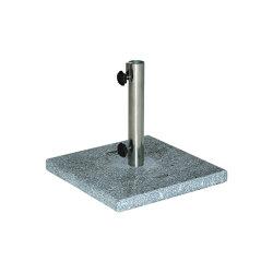 Sunrise | Parasol Base Granite 52 Kg For 4X4 | Parasol bases | MBM