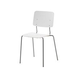 Pisa | chair with tubular 4-leg frame | Chairs | Isku