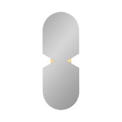 Verto   oval mirror   Mirrors   AYTM