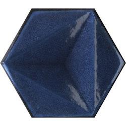 Chroma Blu Esagono | Ceramic tiles | Settecento