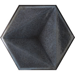 Chroma Fumo Esagono | Ceramic tiles | Settecento