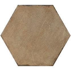 Gea Ocra 40,9x47,2 Esagono | Ceramic tiles | Settecento