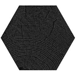 Matiere Hexa-Style Arbre Black | Ceramic tiles | Settecento