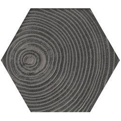 Matiere Hexa-Style Arbre Grey | Ceramic tiles | Settecento