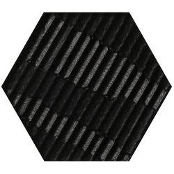Matiere Hexa-Style Carton Black | Ceramic tiles | Settecento