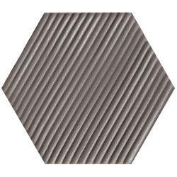 Matiere Hexa-Style Carton Fango | Keramik Fliesen | Settecento