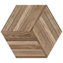 Wooddesign Blend Deck 40,9x47,2 Esagono | Ceramic tiles | Settecento