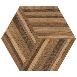 Wooddesign Blend Honey 40,9x47,2 Esagono | Ceramic tiles | Settecento