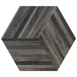 Wooddesign Blend Smoke 40,9x47,2 Esagono | Carrelage céramique | Settecento