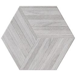 Wooddesign Blend White  40,9x47,2 Esagono | Carrelage céramique | Settecento