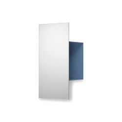 Janus | Shelf, pigeon blue RAL 5014 | Shelving | Magazin®