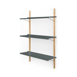 RM3   Shelf, basalt grey RAL 7012   Shelving   Magazin®