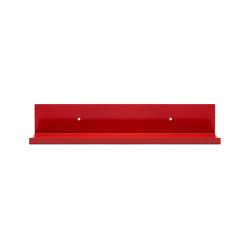 Tragleiste   Shelf, traffic red RAL 3020   Shelving   Magazin®