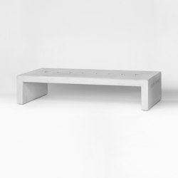 Culture | Concrete Bench | Bancos | Atelier Jungwirth