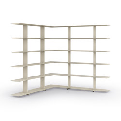 Wing 1600 corner | Shelving | Systemtronic