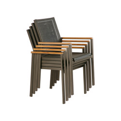 Aura Armchair (Graphite Frame - Charcoal Sling) | Chairs | Barlow Tyrie