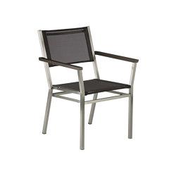 Equinox Armlehnstuhl Graphite Arm/Charcoal Sling   Stühle   Barlow Tyrie