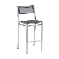 Equinox High Dining Chair (Charcoal Sling)   Sgabelli bancone   Barlow Tyrie
