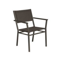 Equinox Armlehnstuhl Gestell Graphite/Carbon Sunbrella® Sling   Stühle   Barlow Tyrie