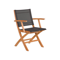 Horizon Carver (Charcoal Sling) | Chairs | Barlow Tyrie