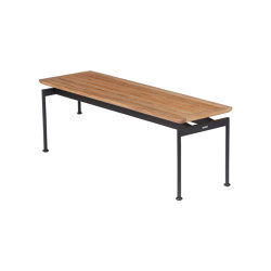Layout 130 Bench (Forge Grey Frame) | Bancos | Barlow Tyrie