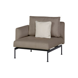 Layout Single Seat - One Arm Layout Single Seat - One Arm (Forge Grey Frame)   Armchairs   Barlow Tyrie