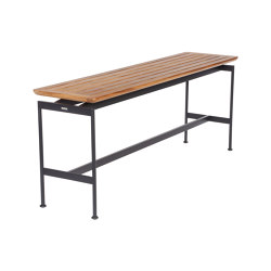 Layout Narrow Console Table 160 (Forge Grey Frame) | Console tables | Barlow Tyrie