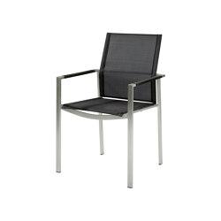 Mercury Stuhl Graphite Arm/Charcoal Sling   Stühle   Barlow Tyrie
