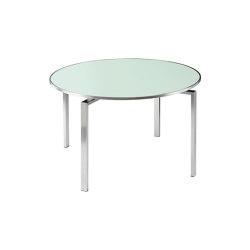 Mercury Table 120 Ø Circular (Sea Ice Glass) | Tavoli pranzo | Barlow Tyrie