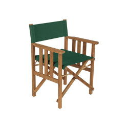 Safari Armchair (Forest Green Sling) | Chairs | Barlow Tyrie
