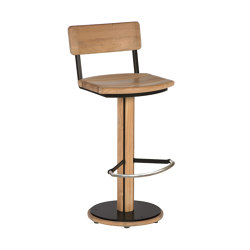 Titan HD Chair (swivel) (Black Frame) | Taburetes de bar | Barlow Tyrie