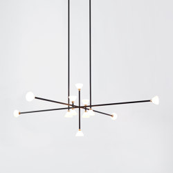 Apollo  Chandelier  12 Lights   Suspended lights   Roll & Hill