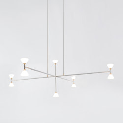 Apollo  Chandelier  Vertical - 10 Lights | Suspensions | Roll & Hill