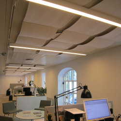 Qwaiet Wool absorber | Sound absorbing ceiling systems | Okko