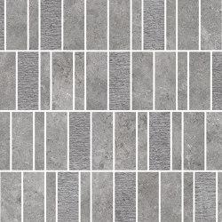 Pedra Azul Grey Mosaico Mix | Ceramic mosaics | Refin