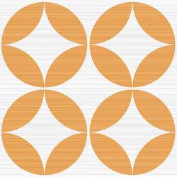 Riflessi Arancio Forme Lucido | Keramik Fliesen | Refin