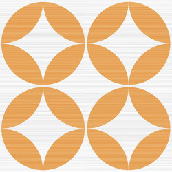 Riflessi Arancio Forme Lucido | Carrelage céramique | Refin