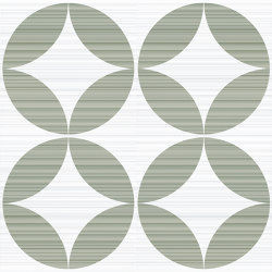 Riflessi Verde Forme Lucido | Ceramic tiles | Refin