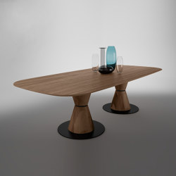 Groove Two LL Table   Dining tables   Exenza