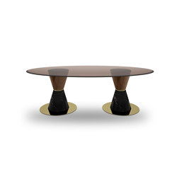 Groove Two LMV Table | Dining tables | Exenza