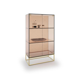 Drop Bookcase | Display cabinets | Exenza