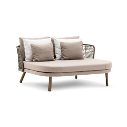 Emma daybed compact schienale basso | Lettini / Lounger | Varaschin