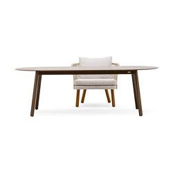 Emma fixed low table | Esstische | Varaschin