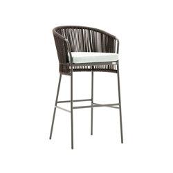 Tibidabo stool | Barhocker | Varaschin