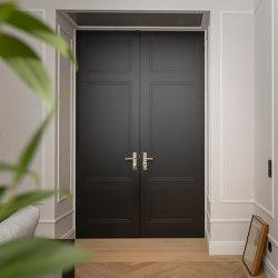Style doors Design doors in black VIENNA | Internal doors | ComTür