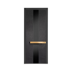Modern front doors doors with special surfaces STONE | Porte casa | ComTür