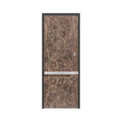 Modern front doors doors with special surfaces STONE | Entrance doors | ComTür