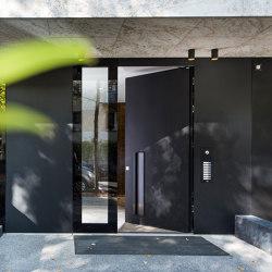 Modern front doors Design doors in black NATURA | Entrance doors | ComTür