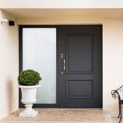 Style front doors flush fitting doors ANTIK | Entrance doors | ComTür